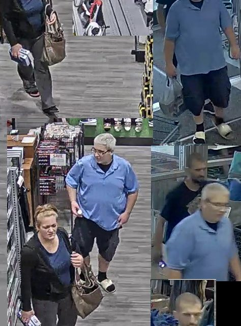 Wilkes-Barre Township Police looking for crew of alleged Dicks's Sporting Goods golf ball scammers