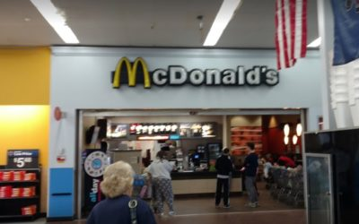 Shake machine black stringy mold growth and numerous drain flies inside of mix, York McDonalds on Loucks RD in Walmart fails 2nd straight annual inspection