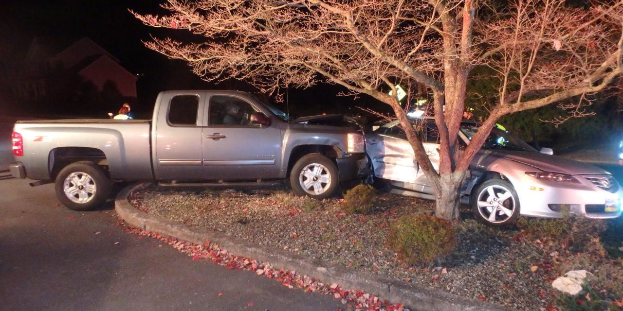 2 injured in Upper Allen Township crash Tuesday night