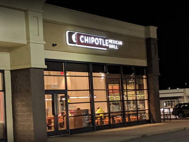 """Large infestation of insects, Chipotle on Springwood in York fouls inspection with 7 violations, """"extremely dirty"""""""