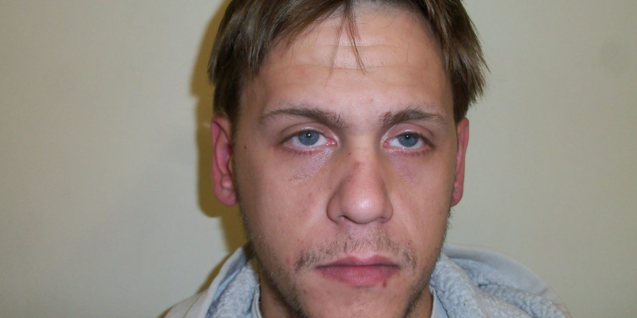 Dustin Heddings, 28 of Watsontown, arrested for DUI following traffic stop, held on parole violations