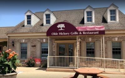 """Lancaster's Olde Hickory Grille bumbles inspection; """"Observed green and white mold on the underside of the shelves in the walk-in cooler"""""""