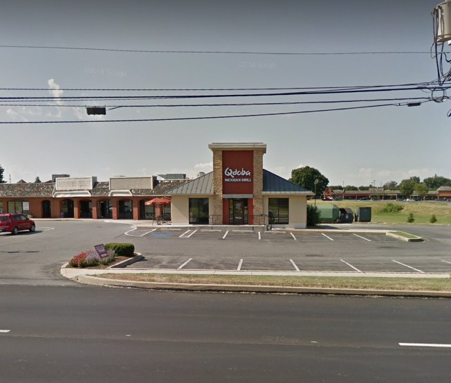 7 violations; Complaint sends inspectors to Qdoba Mexican Grill in Lancaster; Food prep and warewash areas of the food facility are extremely dirty and greasy