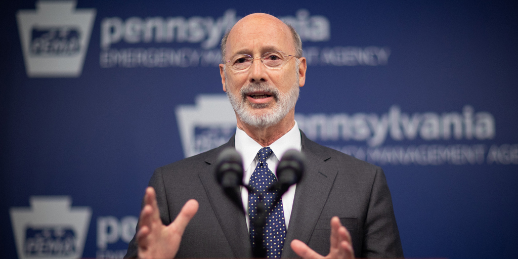 Governor Tom Wolf addresses protests, provides update on state response