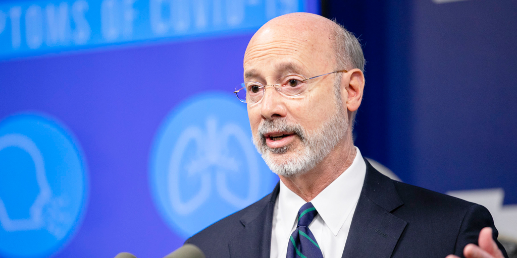 """Gov Tom Wolf issues statement threatening business owners if they follow local leaders, """"The enemy is a deadly virus set on destroying us"""""""
