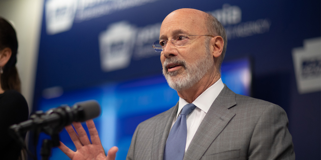 Governor Tom Wolf: Commonwealth Response Coordination Center Activated in Response to Protests