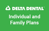 Logo for Delta Dental Individual and Family Plans.