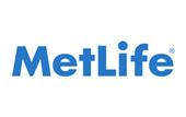 Logo for MetLife.