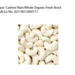 Cashew 10 kg whole cashews online cashew nuts whole organic  W270 Grade
