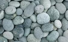 Green Beach Pebbles