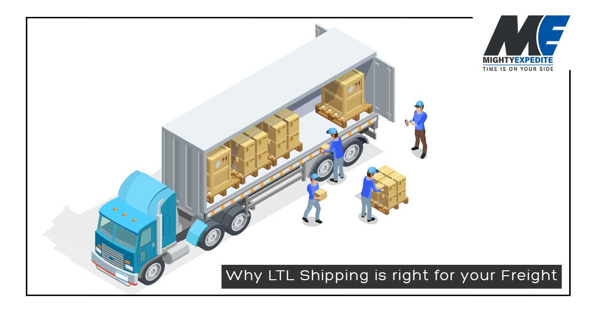 Why LTL Shipping is right for your Freight