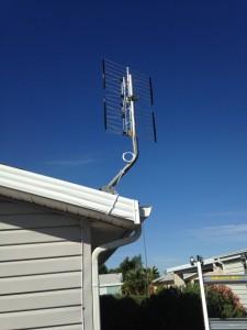 HDTV Antenna install.Tempe, AZ_myststemtech