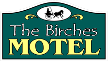 the birches motel logo