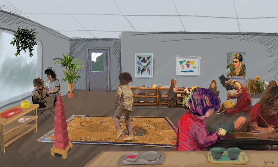 Montessori Children's Room Expands its Building with the Help of NEDCO in Omaha, NE