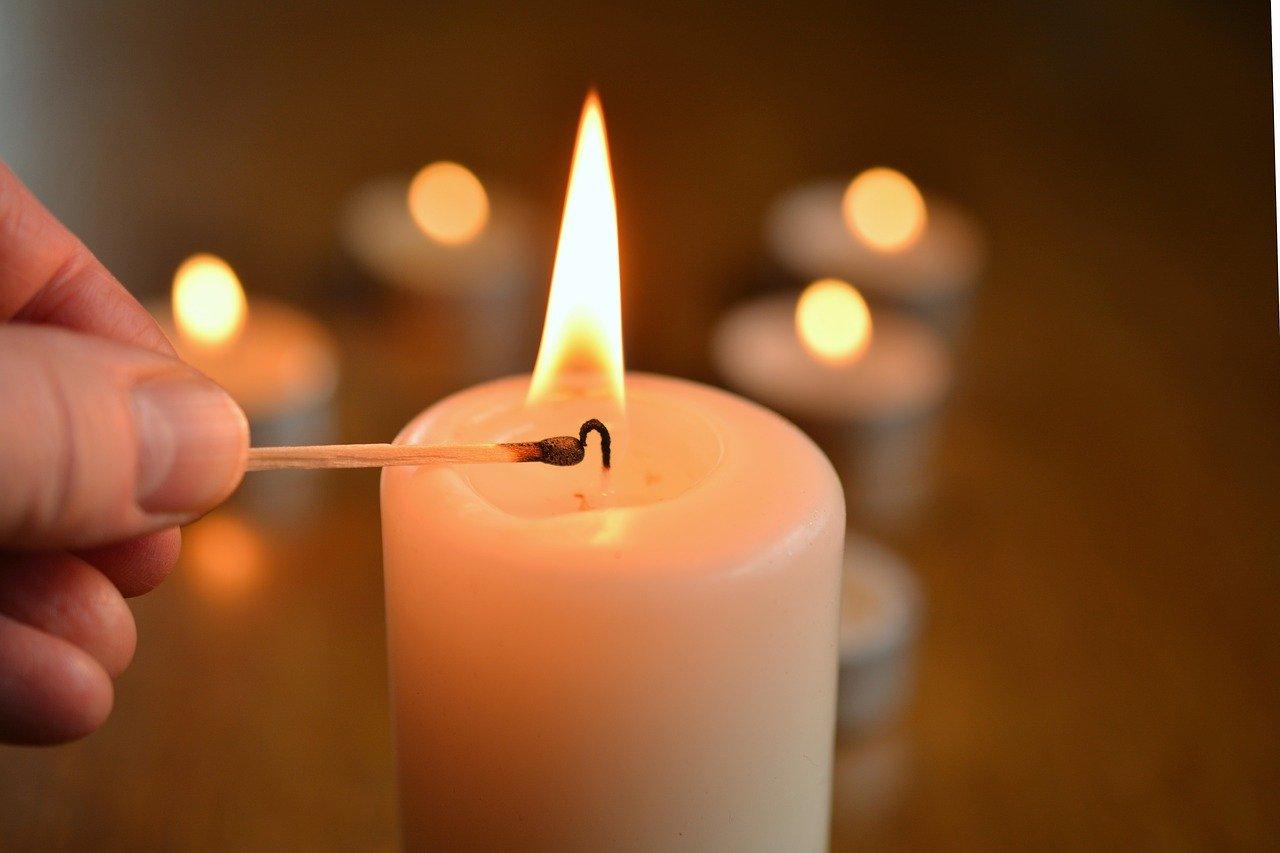 candle, light candle, kindle