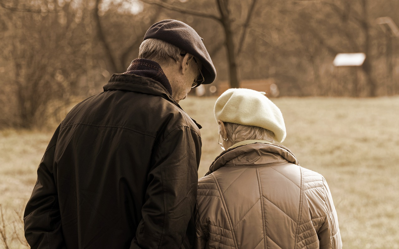 couple, age, man