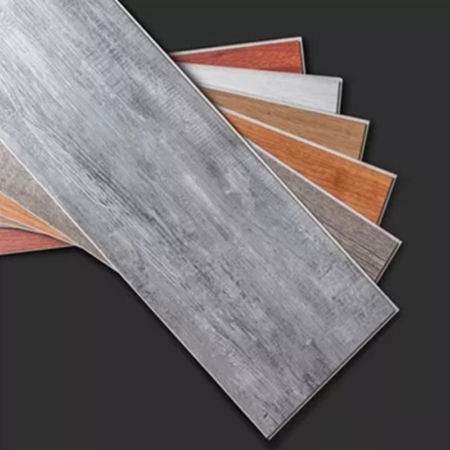 100% Waterproof SPC Plank Flooring made of Dent-Resistant Material