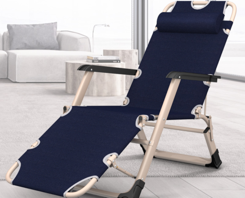 Indoor/Outdoor Comfortable & Breathable Folding Chair Recliner