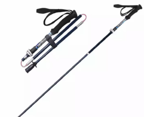 Super Lightweight Carbon Fiber Telescoping Hiking Pole/Walking Stick