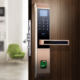 Smart Home Door Lock with Intelligent Fingerprint, Password, & Card Recognition