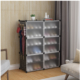 Stackable, Transparent Storage Organizer for Home & Office