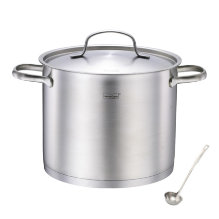 20-Quart Commercial Grade Stock Pot made of Stainless Steel