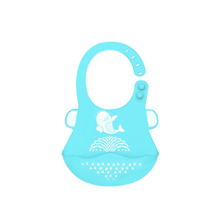 Feeding Bibs for Babies Made of 100% Food-Grade Silicone