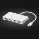 USB-C Multiport Hub for MacBook Compatible with Most Type-C Devices