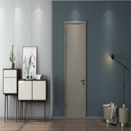 Paneled Solid Wood Primed Standard Door