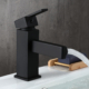 Modern One-Handle Single-Hole Bathroom Sink Faucet