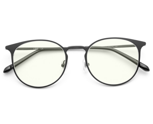 Slim Ultra Light Modern Round Metal Lens Eyeglasses Frame