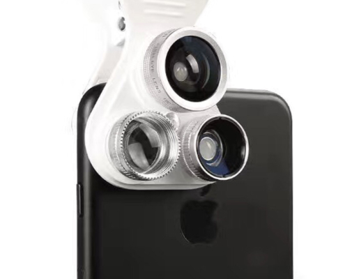 Multi-Lens + LED Light Kit Compatible with Most Phones