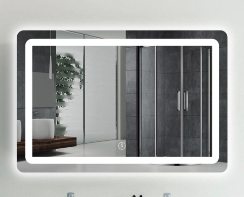 LED Touch-Screen Mirror (Single & Double Vanity)