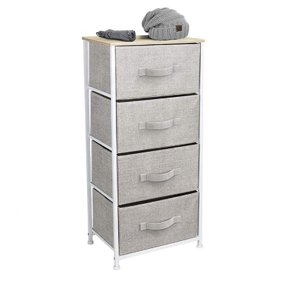 4-Drawer Vertical Free-Standing Dresser