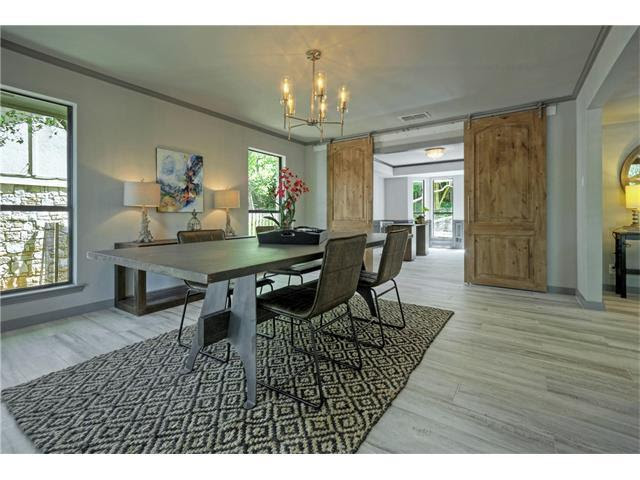 Interior Design Austin - Before and After Dining Room