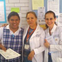 Dra. Vega y Mtra. María Fernanda