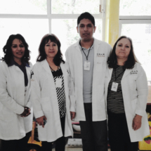 Integrantes del Laboratorio Miguel y Dra. Vega
