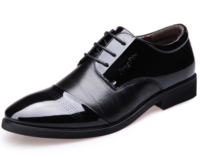 hot selling black Leather shoes,officer men shoes dress,fashion business men shoes