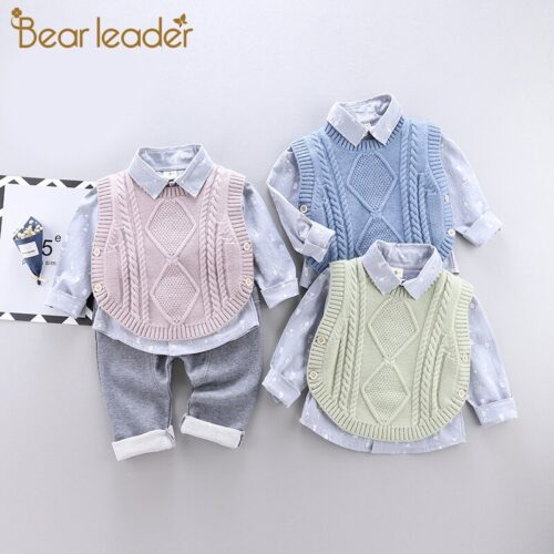 Bear-Leader-2020-New-Baby-Boy-Casual-Clothing-Set-3Pcs-Knitted-Vest-Print-Long-Sleeve-Shirt-4