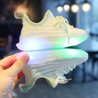 children sport shoes led for girls sneakers kids boys bebe toddler baby children shoes with light luminous shining glowing shoes