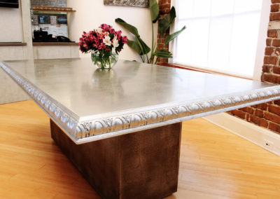Zinc Countertops