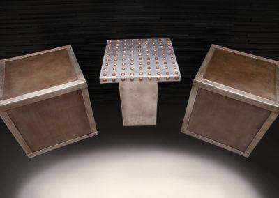 Zinc Side Table - La Bastille