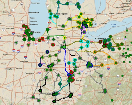 Transportation Optimization Determine optimal multi-stop routes using detailed cost models