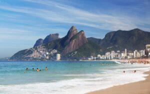 Ipanema Beach en Brasil