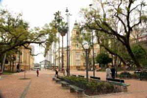 Plaza de Alfândega de Porto Alegre