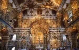 Iglesia de San Francisco de Salvador de Bahía en Brasil