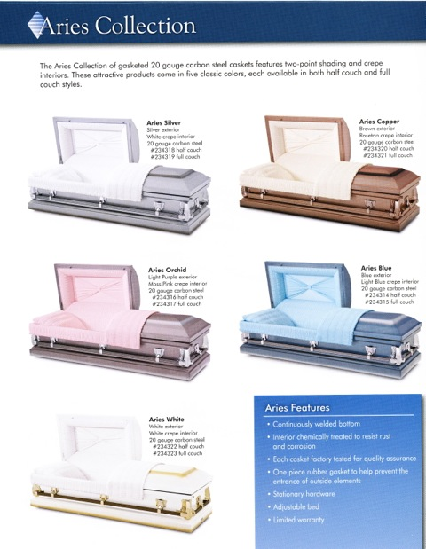 Aries Casket Collection