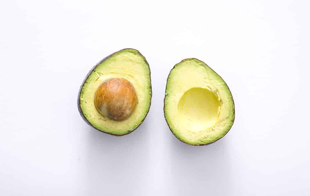 Slice of Avocado fruit