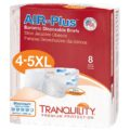 photo of package of Tranquility AIR-Plus Bariatric Brief