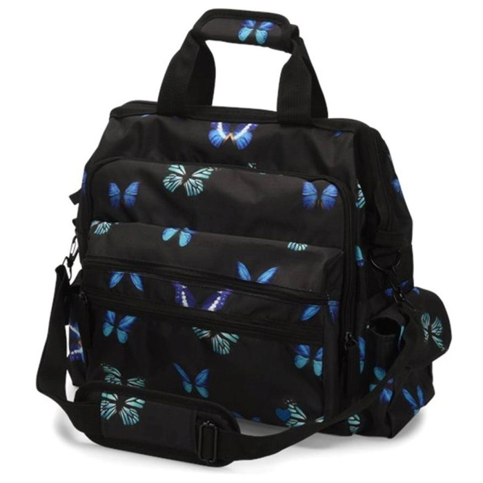 photo of Nurse Mates Ultimate Nursing Bag in Midnight Butterfly